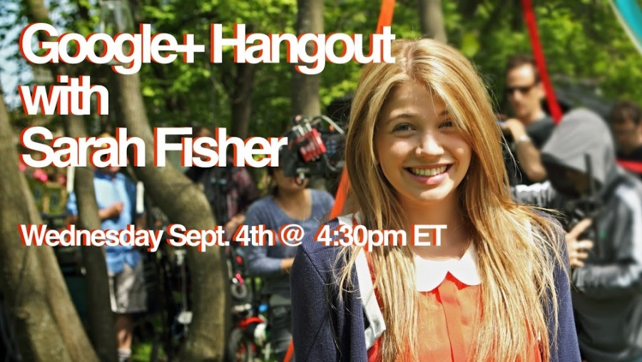 Sarah Hangout Google+ Banner JPEG