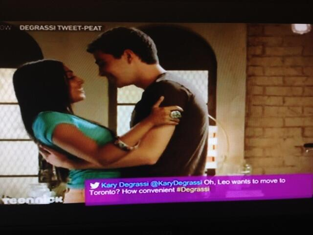 That one time one of my tweets randomly appeared on TV