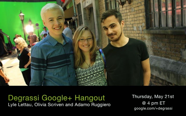 Google Hangout - Lyle, Olivia, Adamo