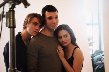 Thomas Sullivan, Jake Epstein and Jenna Gavian / via STRAIGHTthePlay twitter