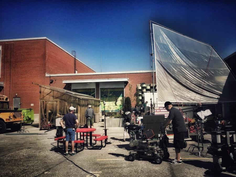 Nice day to be outside #degrassinextclass #degrassi #netflix